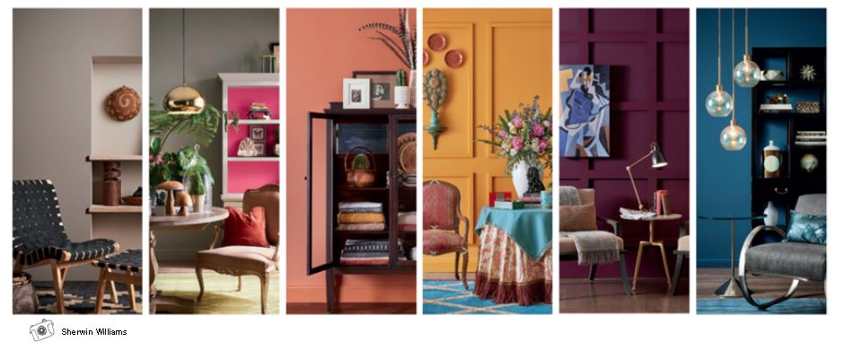 Sherwin Williams ColorMix Forecast 2019 - Paragon Design Firm