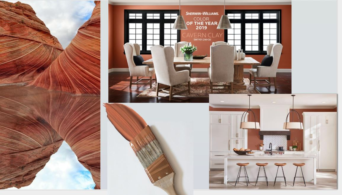 Sherwin Williams Color of the Year- Cavern Clay