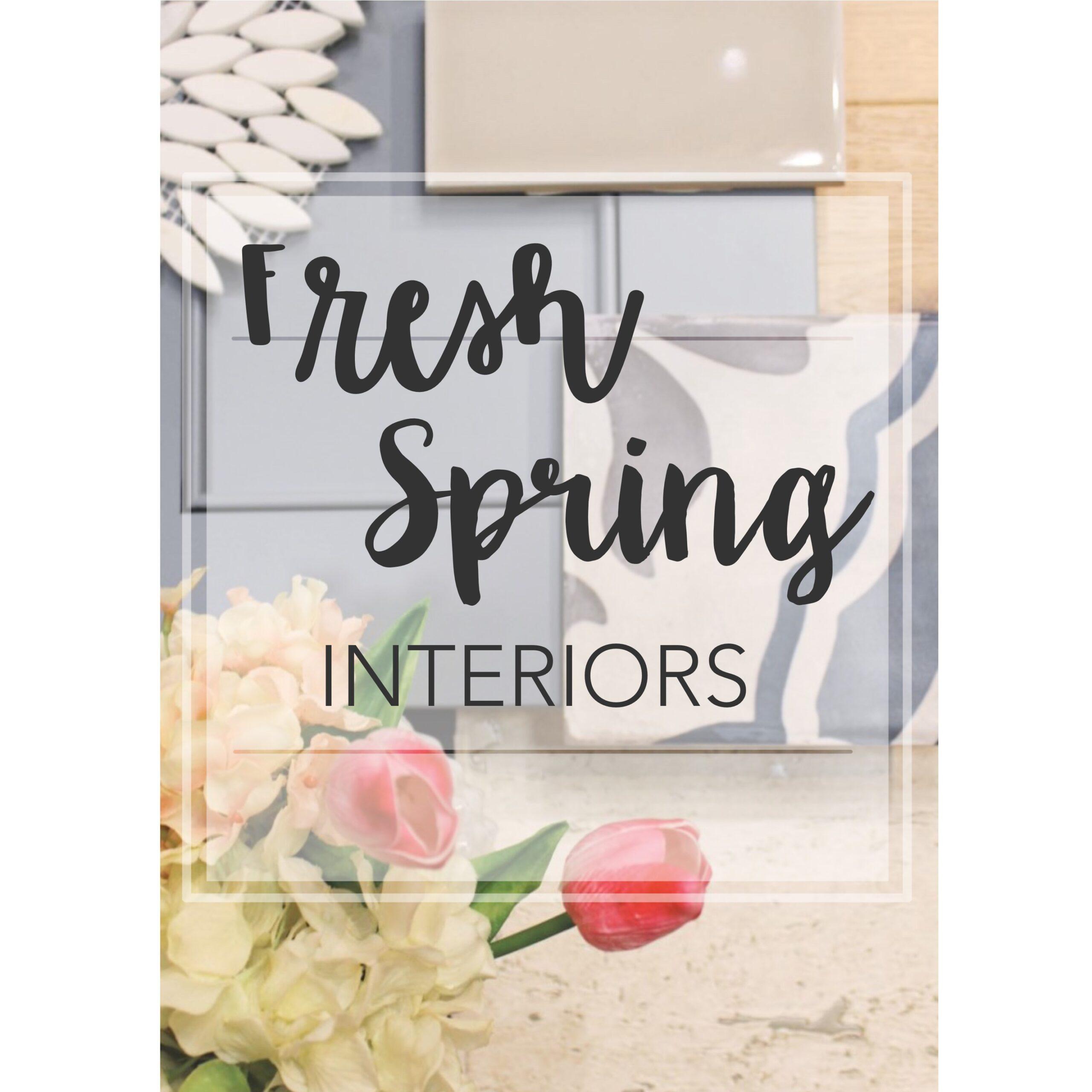 Fresh Ways to Bring Spring Indoors