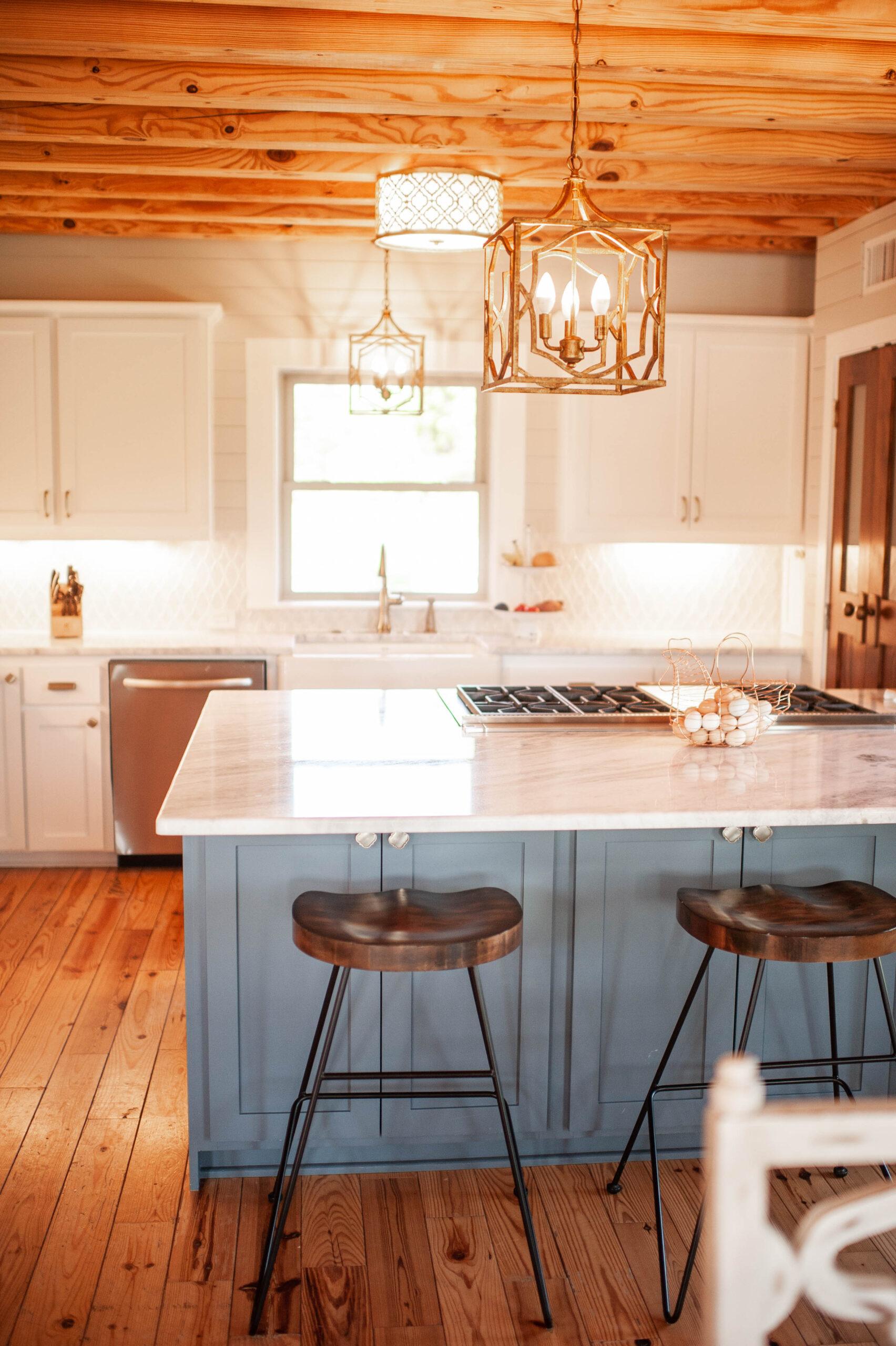 Log Home Kitchen Reno